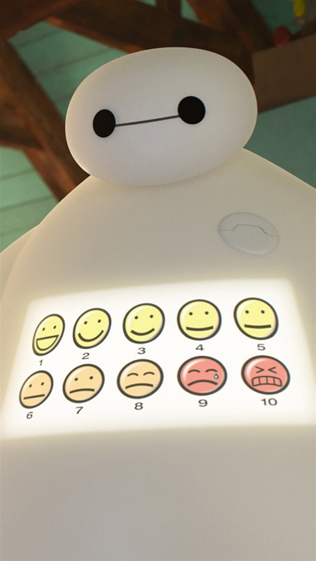 Big Hero 6 Movie Baymax Heal Score iPhone 8 wallpaper