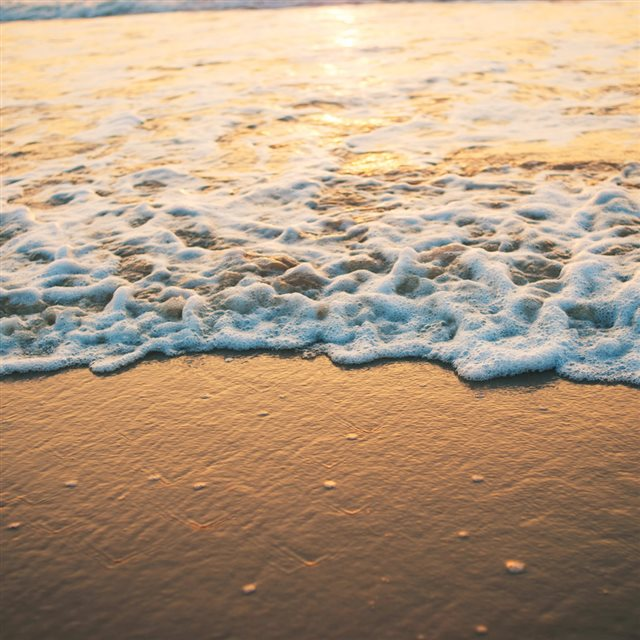 Goa Beach Sunset iPad wallpaper