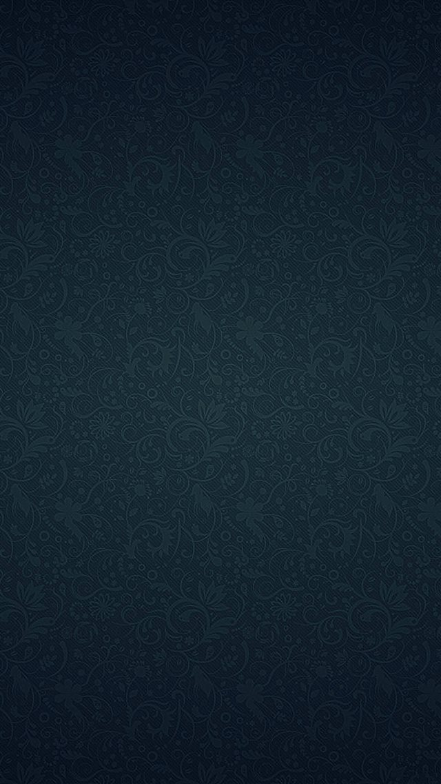Blue Ornament Texture Pattern iPhone 8 wallpaper