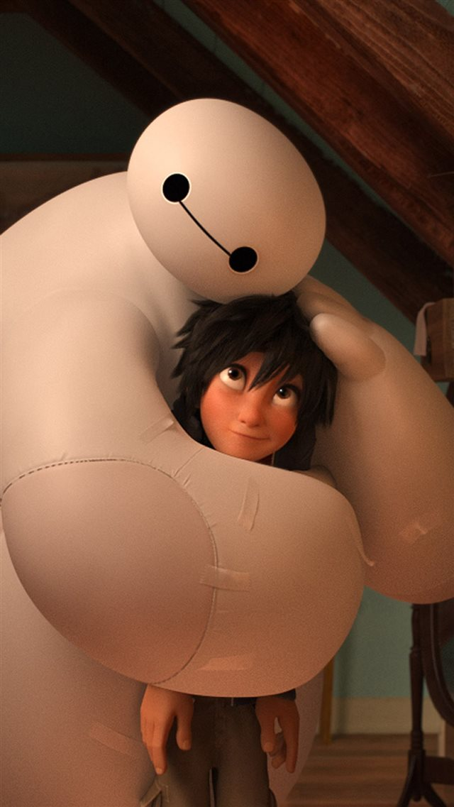 Big Hero 6 Baymax Warm Hug iPhone 8 wallpaper