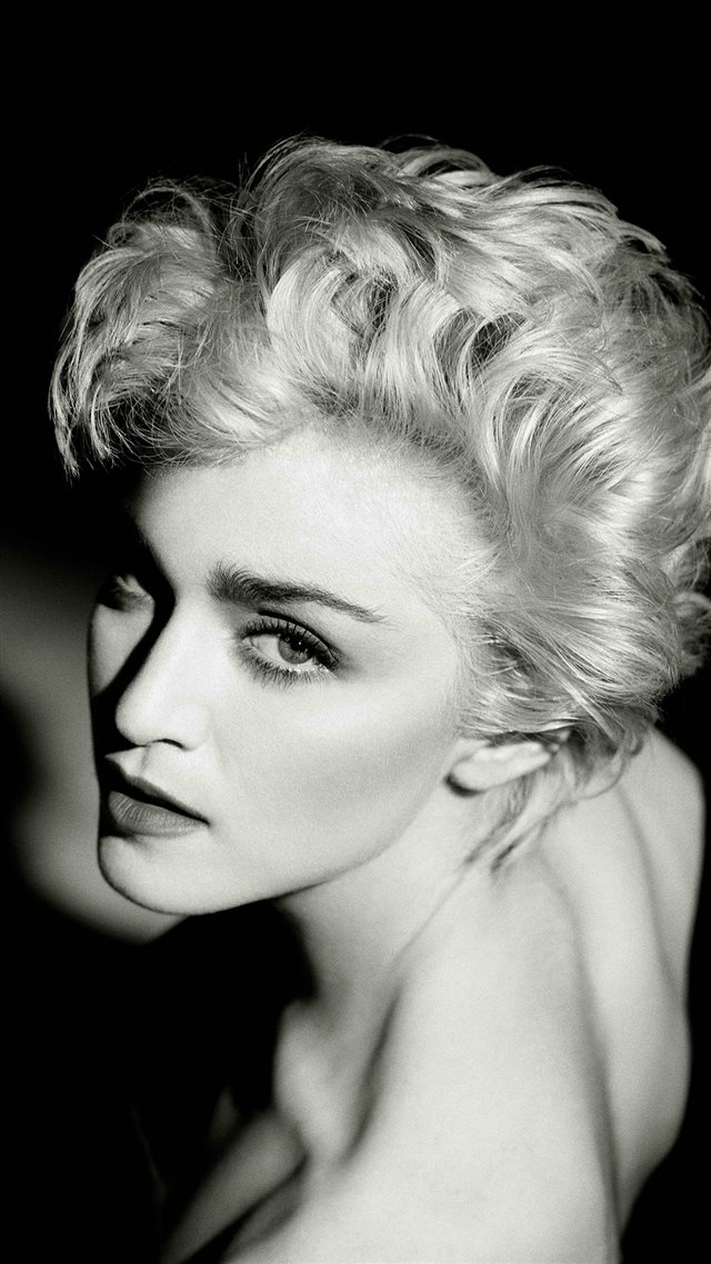Madonna Dark Sexy Music Pop Celebrity iPhone 8 wallpaper
