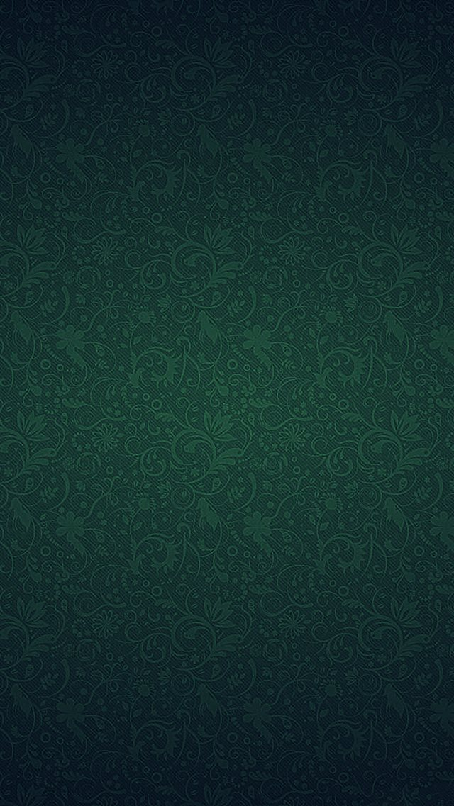 Green Ornament Texture Pattern iPhone 8 wallpaper