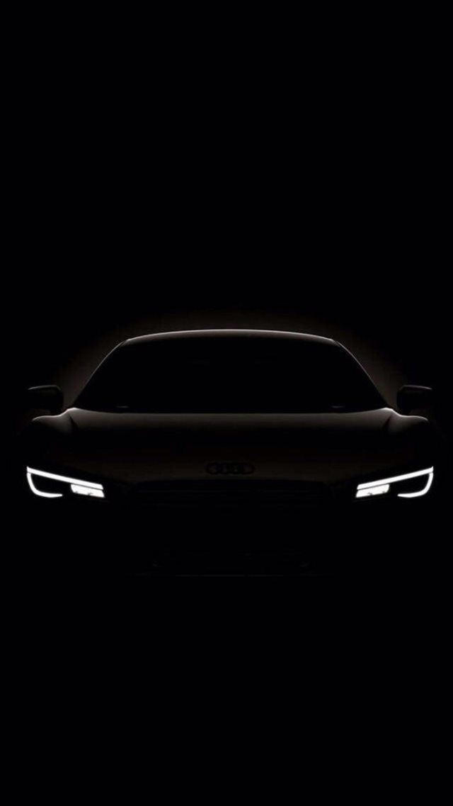 Dark Shiny Concept Car iPhone 8 wallpaper