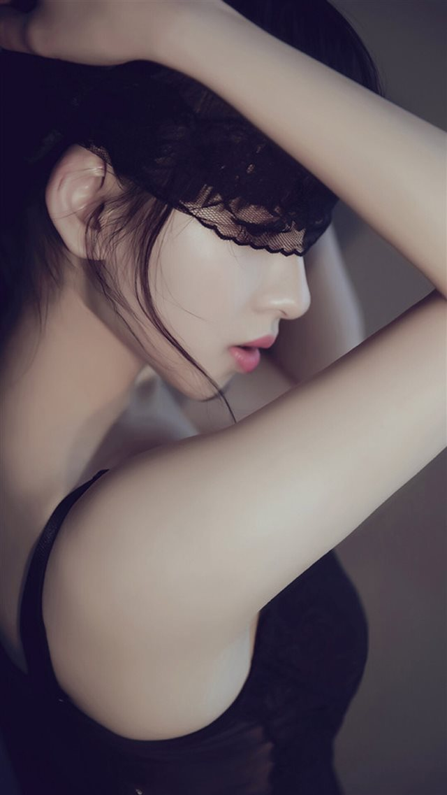 Pure Elegant Beauty Lace Girl iPhone 8 wallpaper