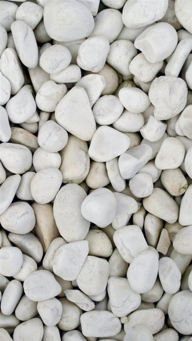 Beach White Pebble Rock Clitter Background iPhone 8 wallpaper