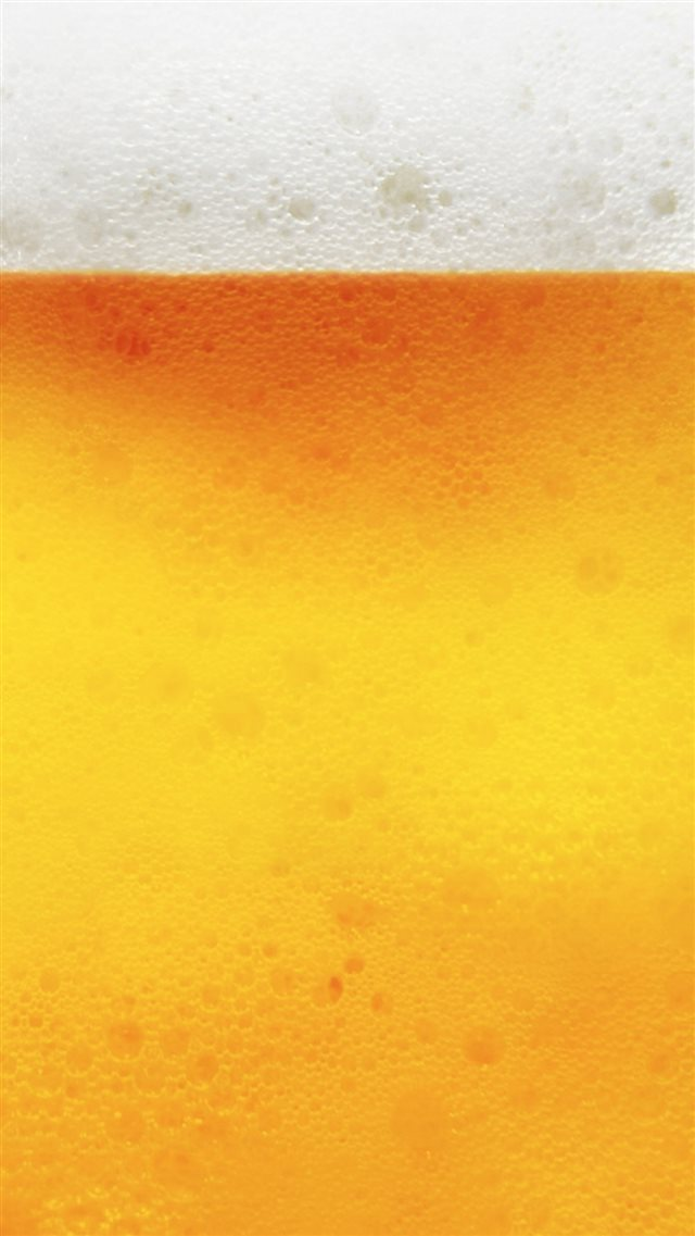 Abstract Golden Bubble Beer Liquid Pattern Background iPhone 8 wallpaper