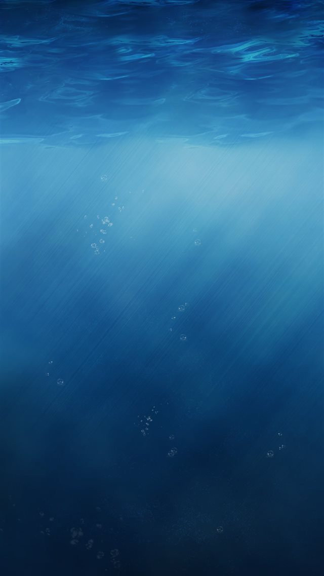 Abstract Pure Simple Undersea Sunlight iPhone 8 wallpaper