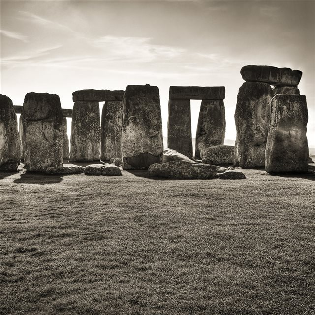 Nature Stonehenge Landscape iPad wallpaper