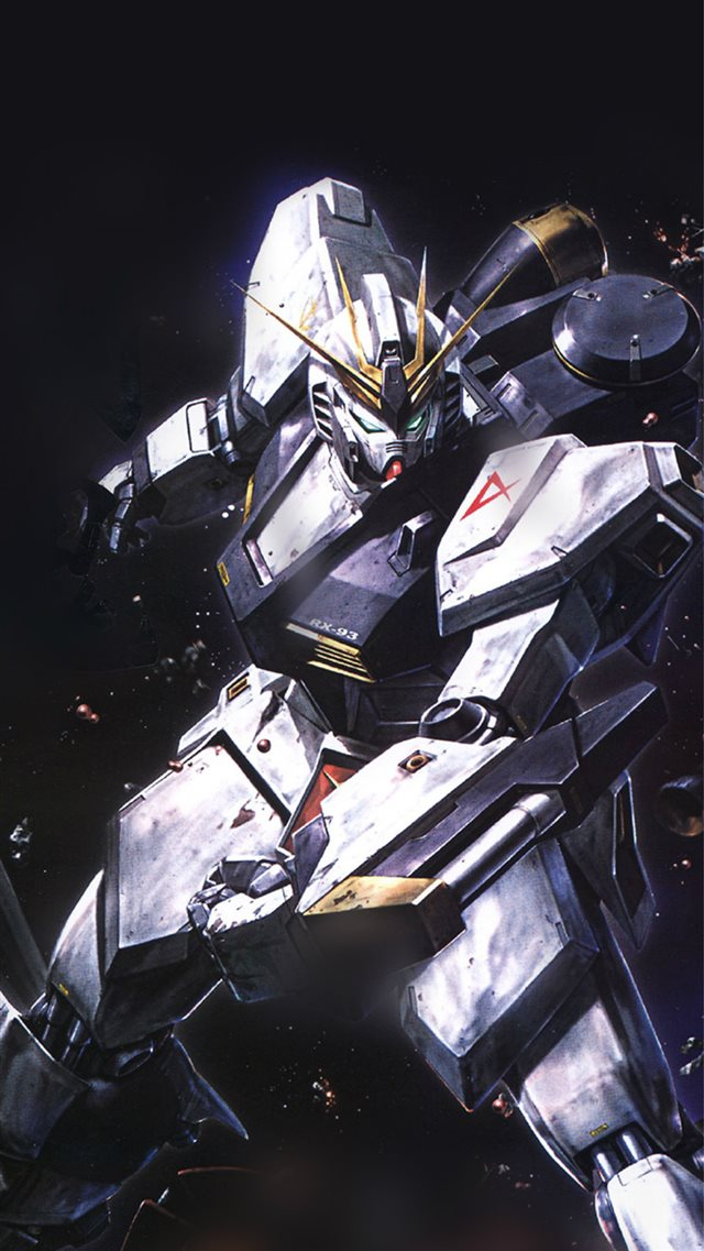 Gundam Rx Illust Toy Space iPhone 8 wallpaper