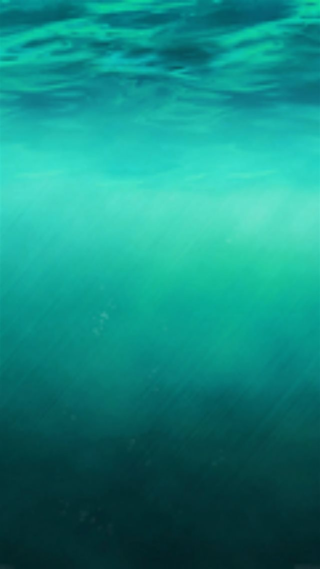 iOS8 Ocean Undersea Pure Clear Background iPhone 8 wallpaper
