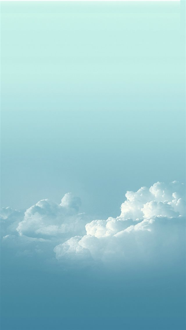 Pure Sunny Bright Cloudy Skyscape iPhone 8 wallpaper