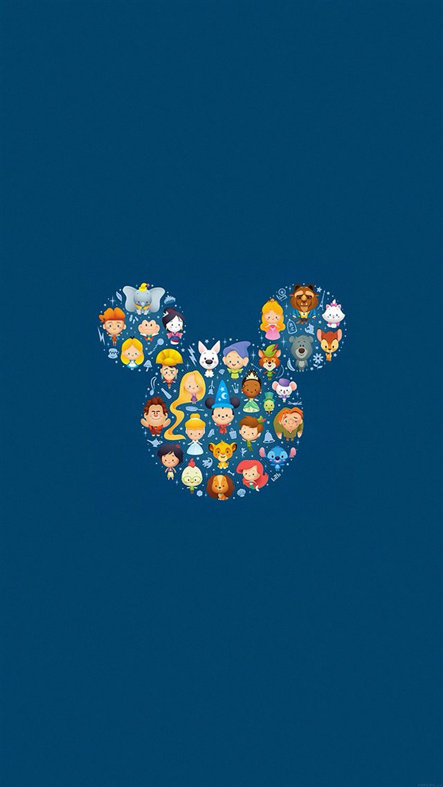 Disney Art Character Cute Illust iPhone 8 wallpaper