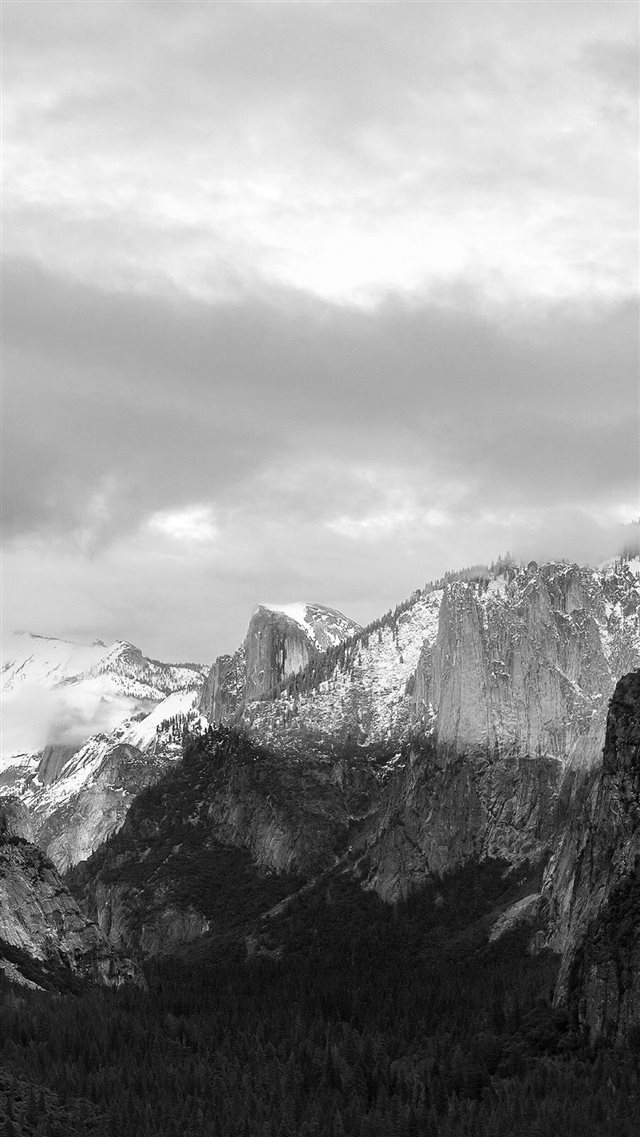 Apple Osx Mac Mountain Wwdc Dark iPhone 8 wallpaper