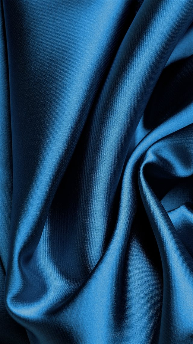 Blue Silk Fabric Texture iPhone 8 wallpaper