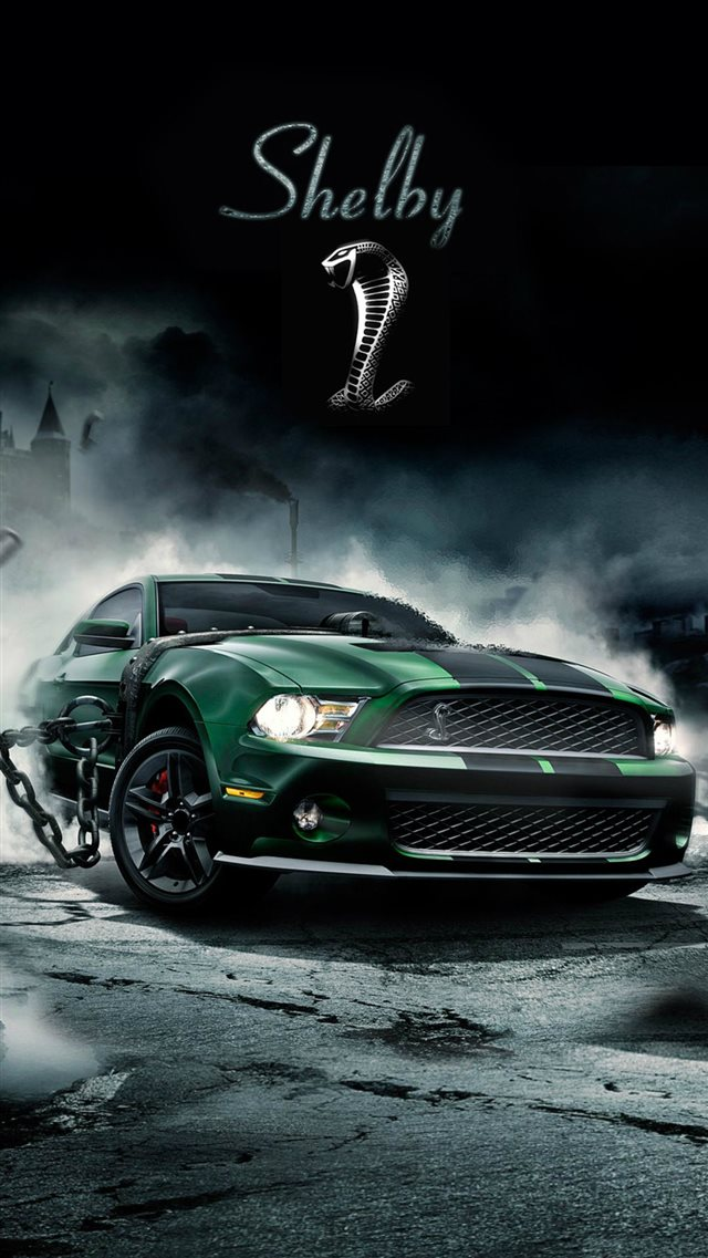 Shelby Cobra Muscle Car iPhone 8 wallpaper