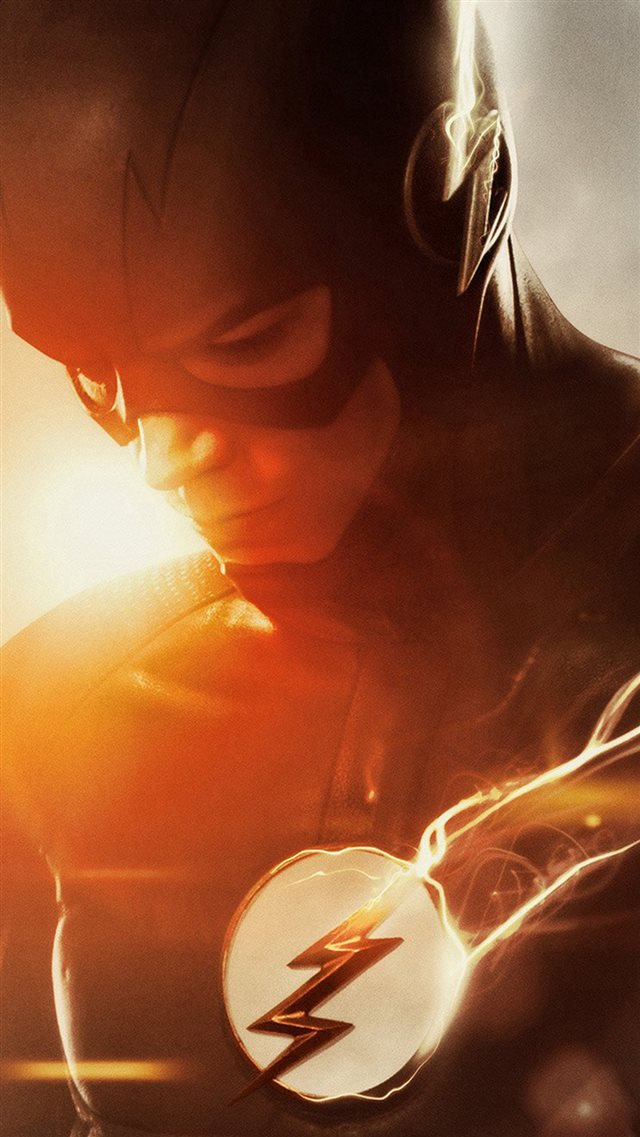 The Flash Tv Series Hero Film Art iPhone 8 wallpaper