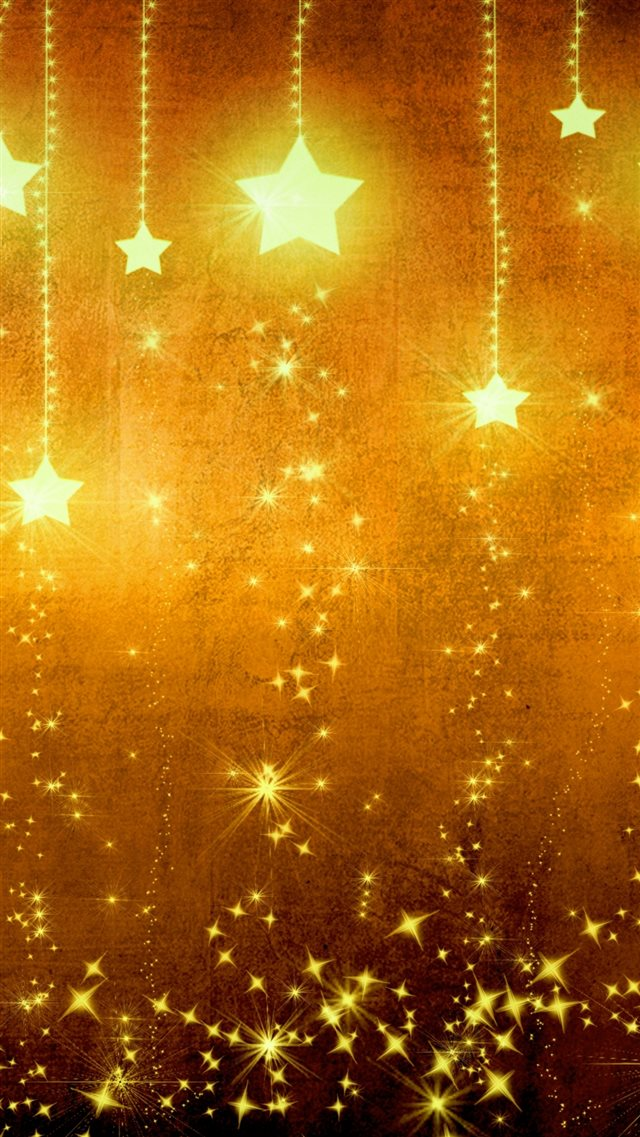 Star Gold Holiday Background Brown Yellow Light Texture iPhone 8 wallpaper
