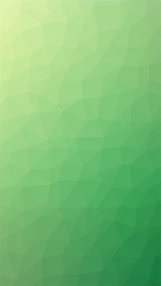 Poly Art Abstract Green Pattern iPhone 8 wallpaper
