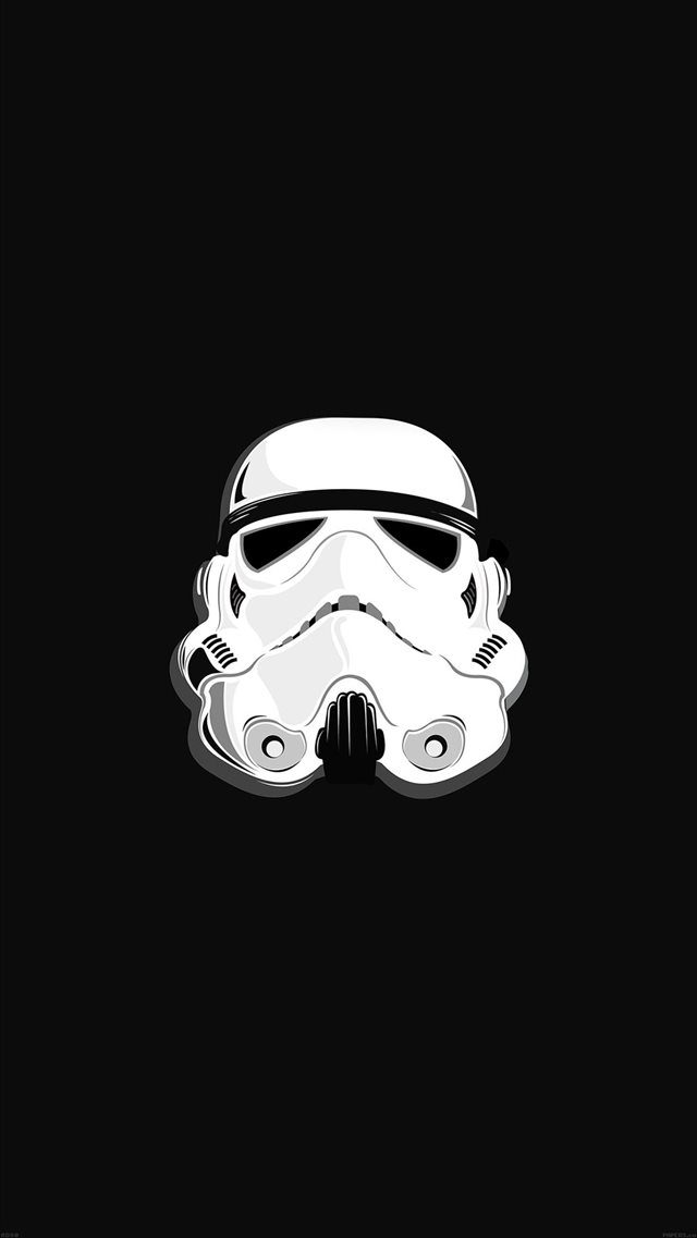 Star Wars Stormtrooper Illustration iPhone 8 wallpaper