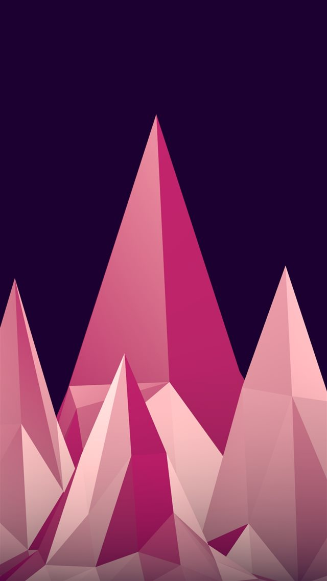 Graphics Low Poly Digital Art Minimalism iPhone 8 wallpaper