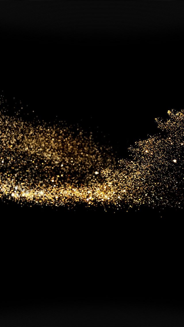 Gold Sparkle Beauty Dark Pattern iPhone 8 wallpaper