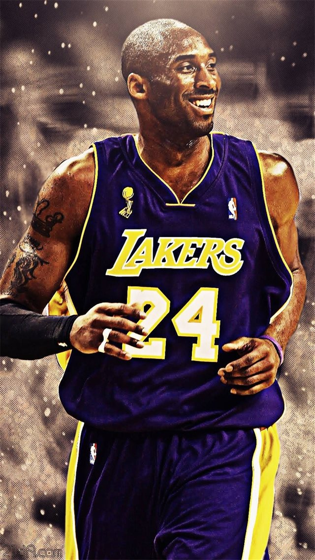 Bryant Kobe NBA Sports Super Star iPhone 8 wallpaper