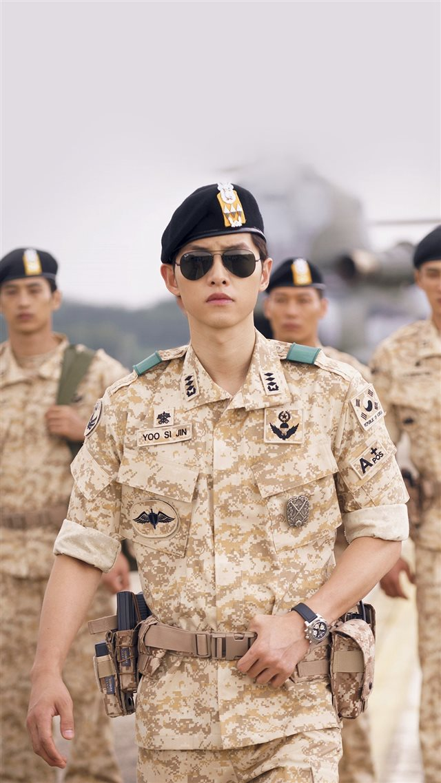 Descendants Of The Sun Heygyo Joonggi Military iPhone 8 wallpaper