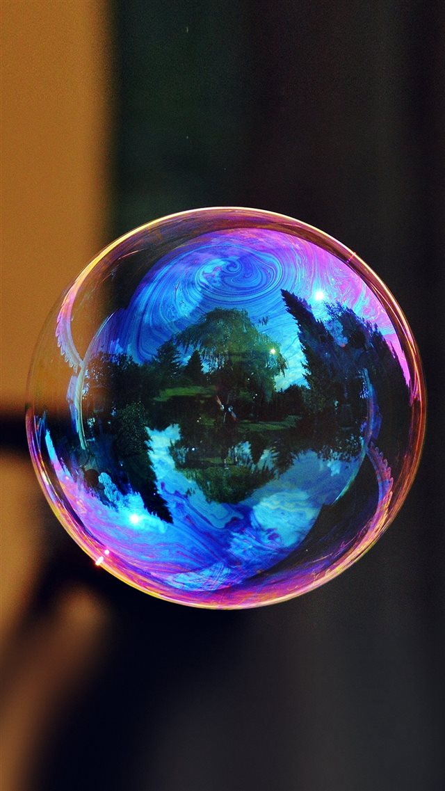 Bubble Art Life Beautiful Colorful iPhone 8 wallpaper
