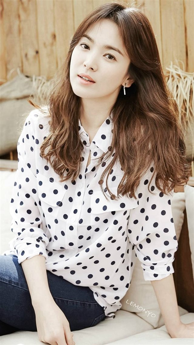 Song Hye Kyo Beauty Star OL Style Photography iPhone 8 ...