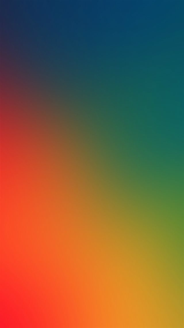 Rainbow Art Gradation Blur Iphone 8 Wallpapers Free Download