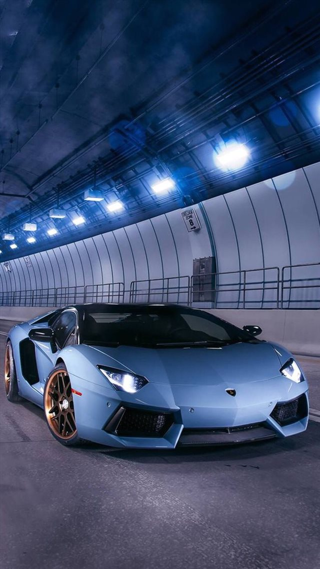 Tunnel Super Racing Car Road Night Iphone 8 Wallpapers Free Download