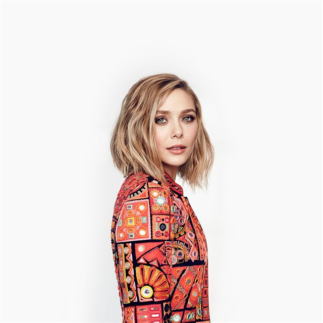 Elizabeth Olsen Stellar Magazine Art Celebrity iPad wallpaper
