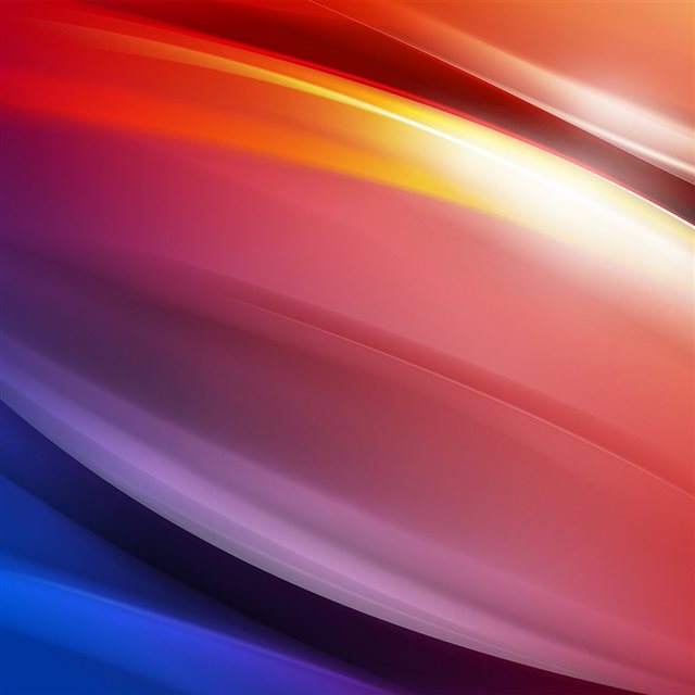 Rainbow Art Curve Abstract Pattern iPad wallpaper