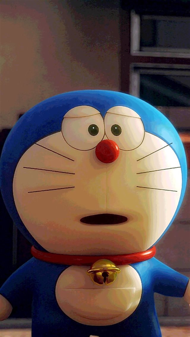 Cute Doraemon Cartoon iPhone 8 wallpaper