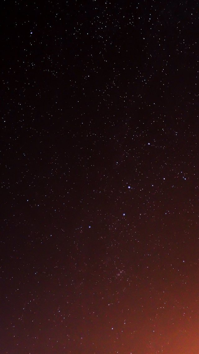 Star Sky Night Space Dark iPhone 8 wallpaper