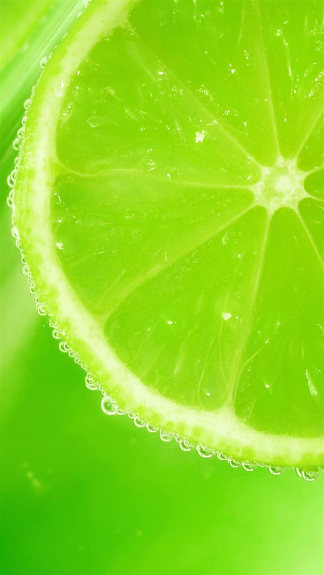 Fresh Lemons Slice Dew iPhone 8 wallpaper
