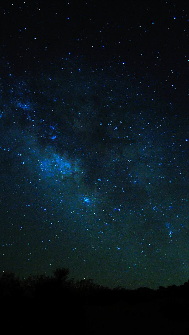 Sky Views At Night iPhone 8 wallpaper