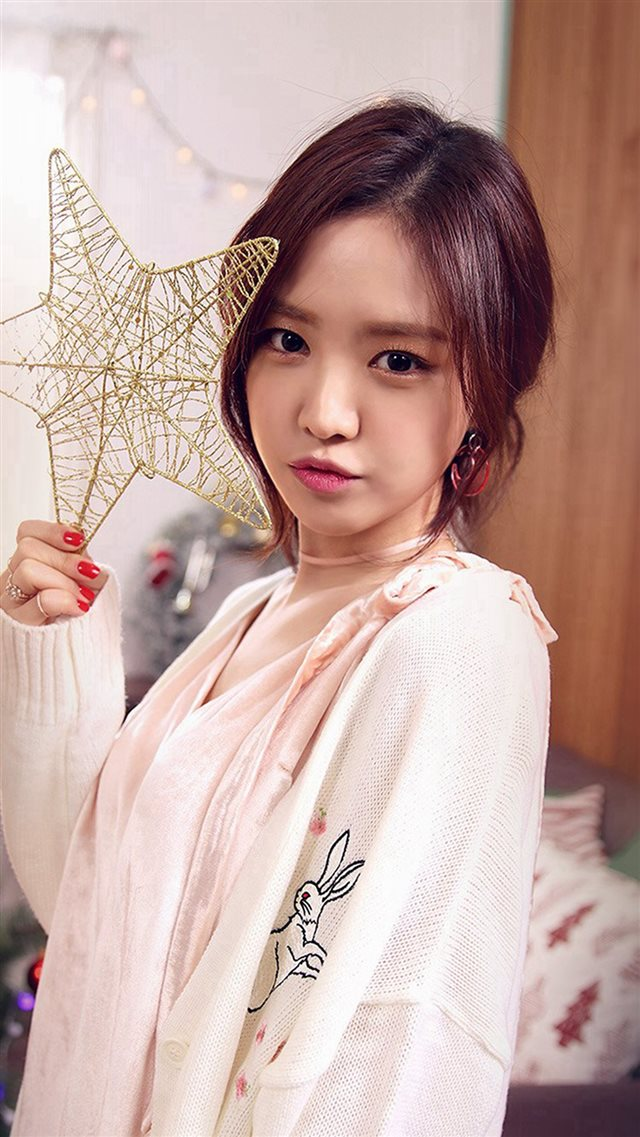 Kpop Girl Cute Christmas Apink Iphone 8 Wallpaper Download Iphone