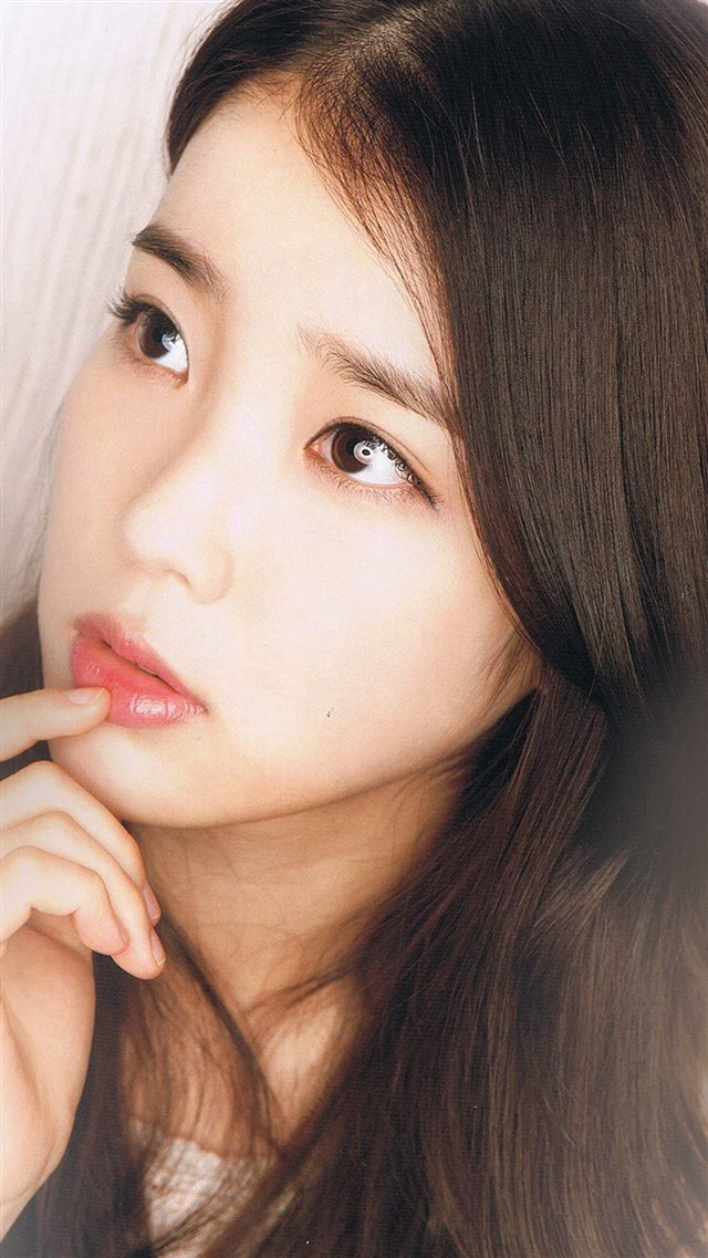 Kpop IU Girl Music Cute iPhone 8 wallpaper