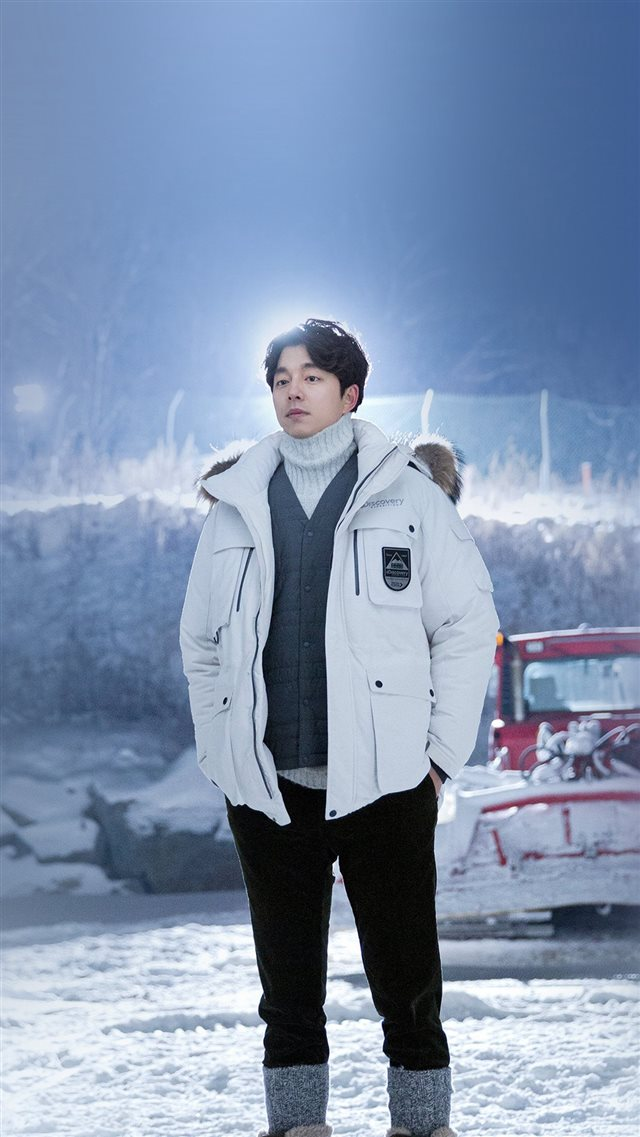 Kpop Gongyoo Winter Handsome Doggaebi iPhone 8 wallpaper