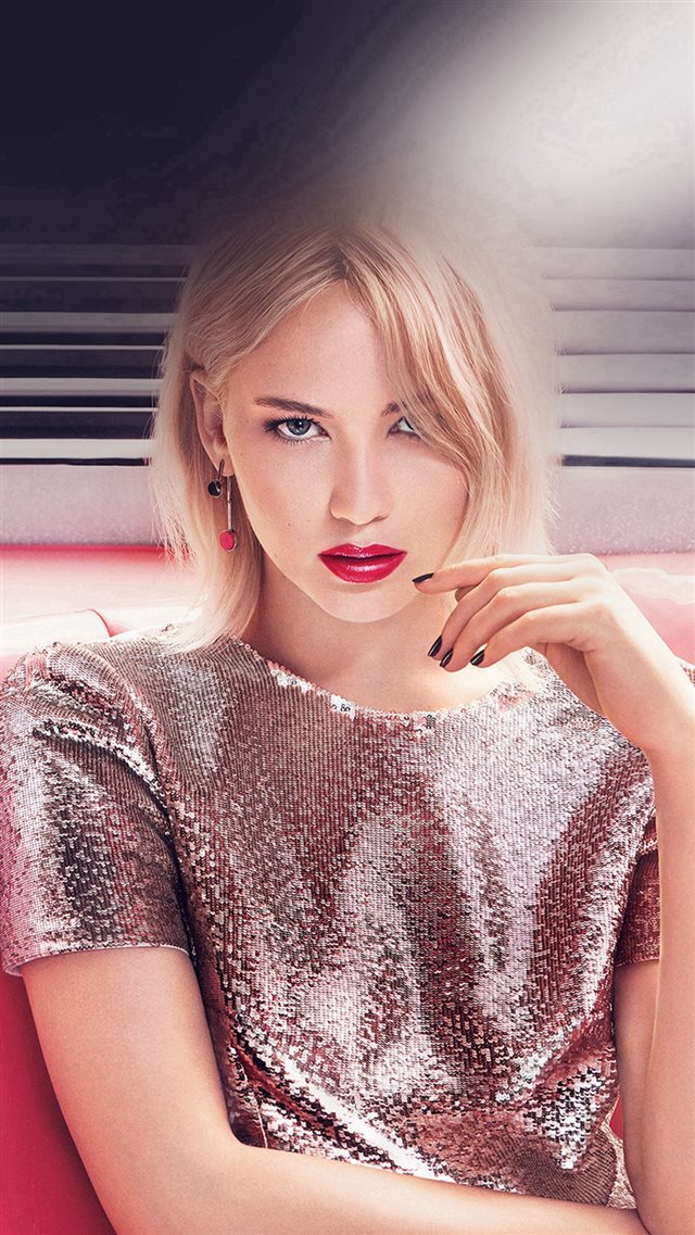 Jennifer Lawrence Girl Gaze Film Actress iPhone 8 wallpaper