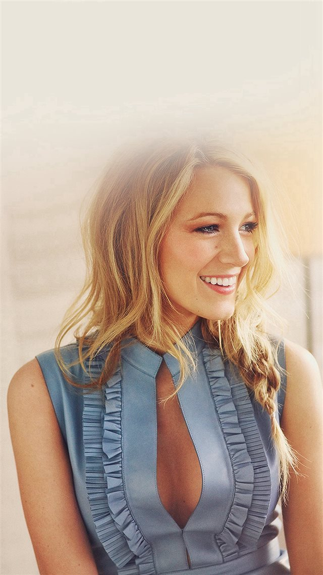 Blake Lively Girl Woman Film Actress iPhone 8 wallpaper