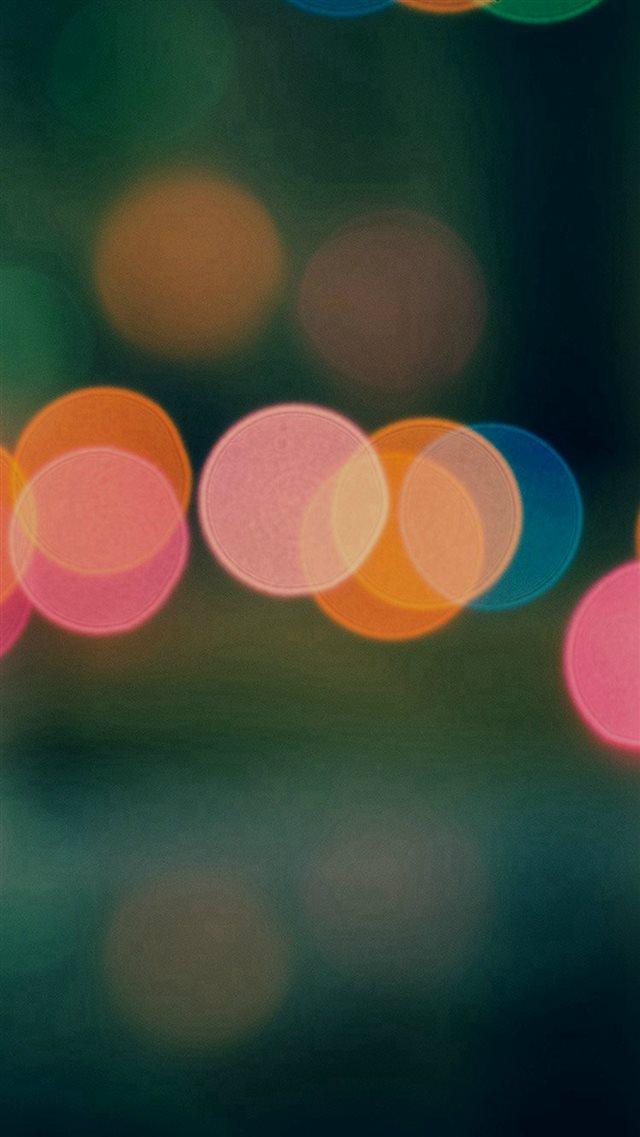 Light Bokeh Dark Blur Pattern iPhone 8 wallpaper