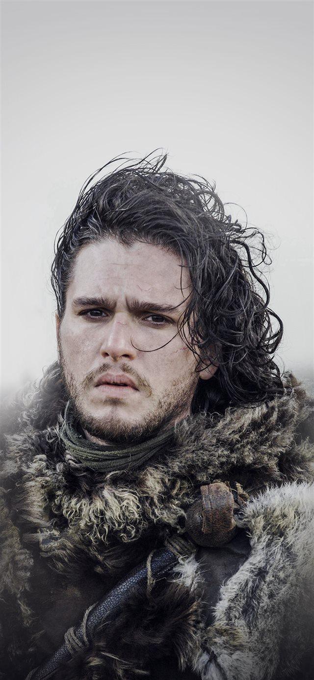 Jon Snow Game Of Thrones Film Art iPhone X wallpaper