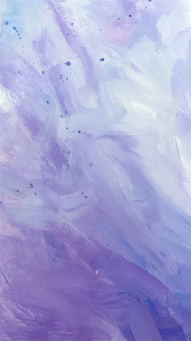 Purple Paint Strokes  iPhone 8 wallpaper