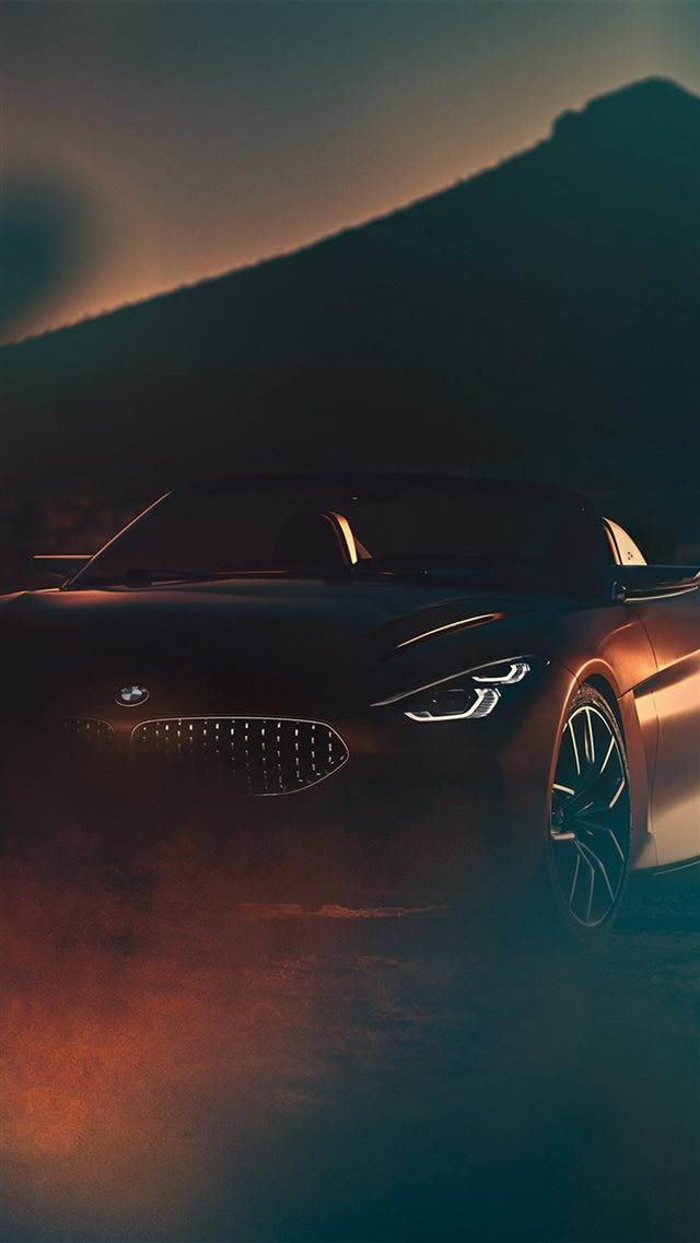 BMW Car Photo Illustration Art iPhone 8 wallpaper