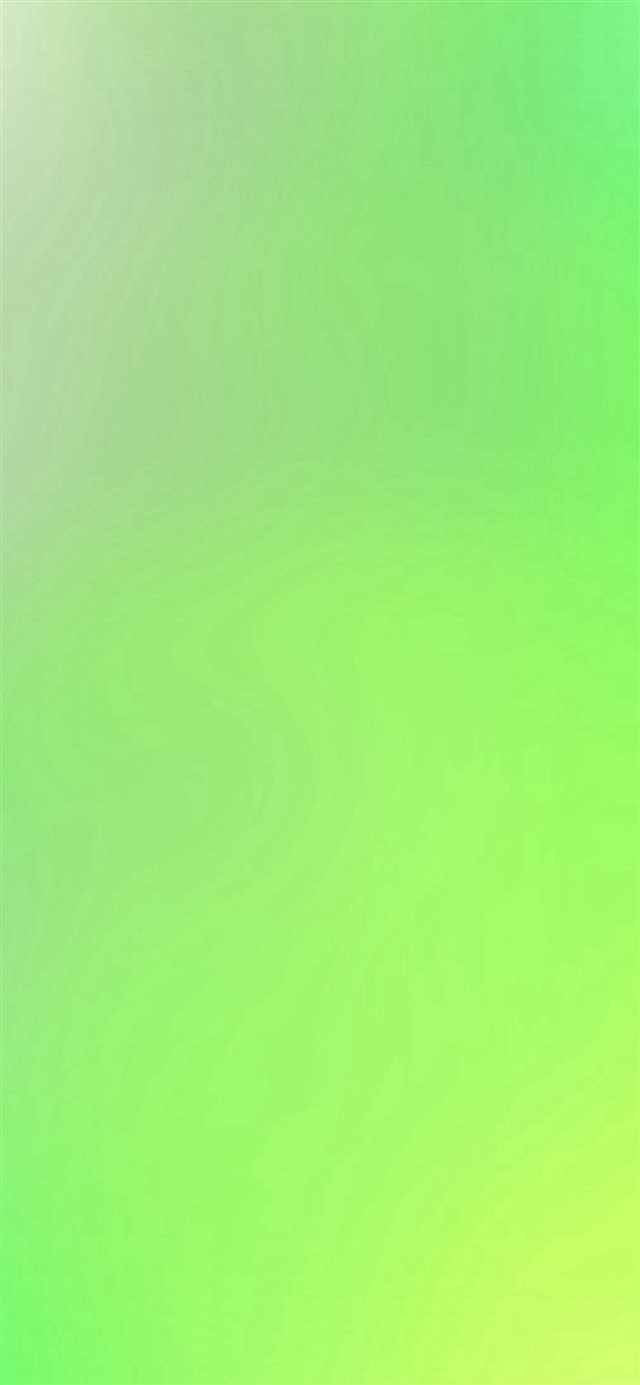 Green Yellow Blur Gradation iPhone X wallpaper