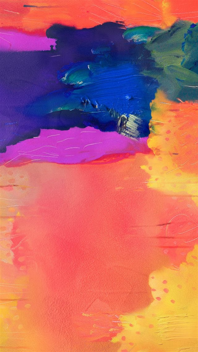 Note Pro Galaxy Painting Art Pattern Rainbow iPhone 8 wallpaper