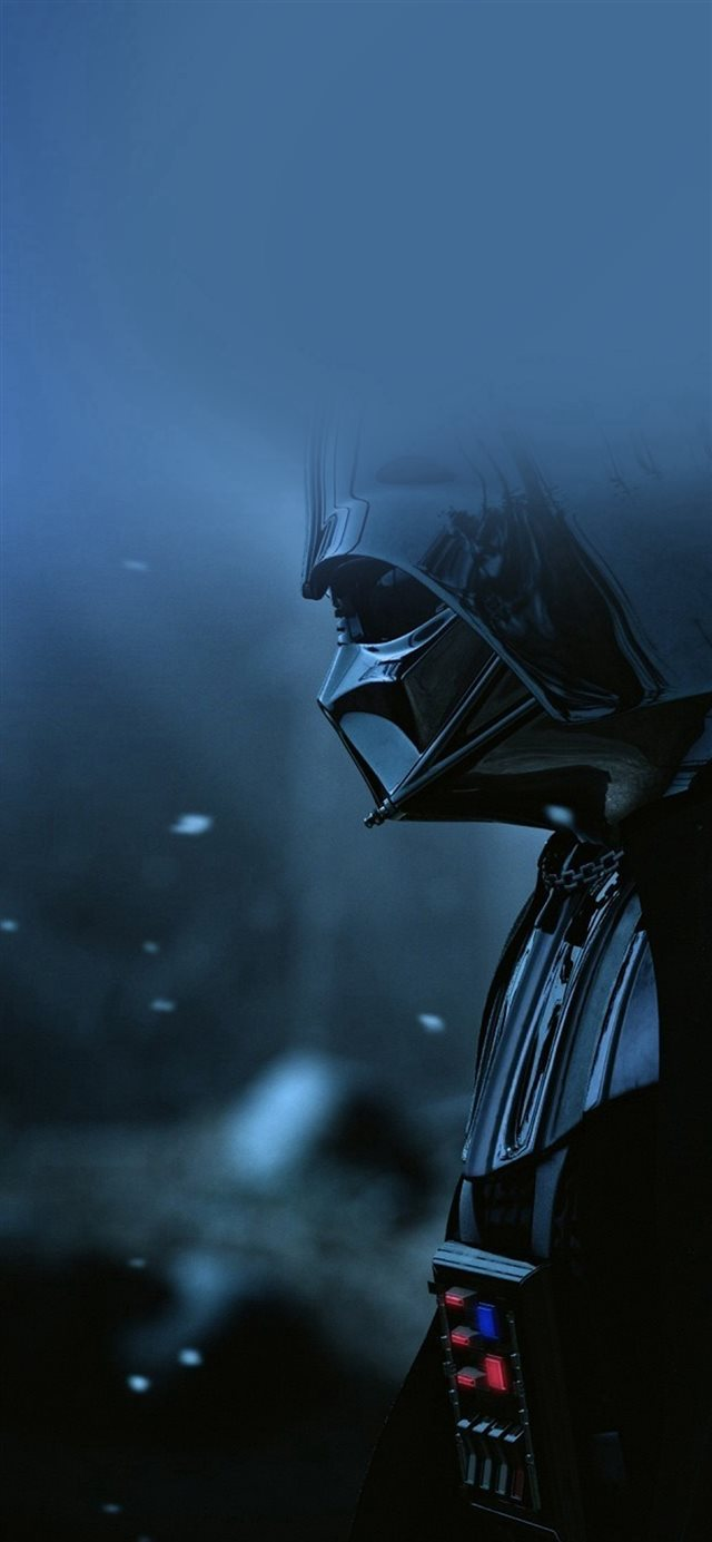 Starwars  Art Film Blue iPhone 11 wallpaper