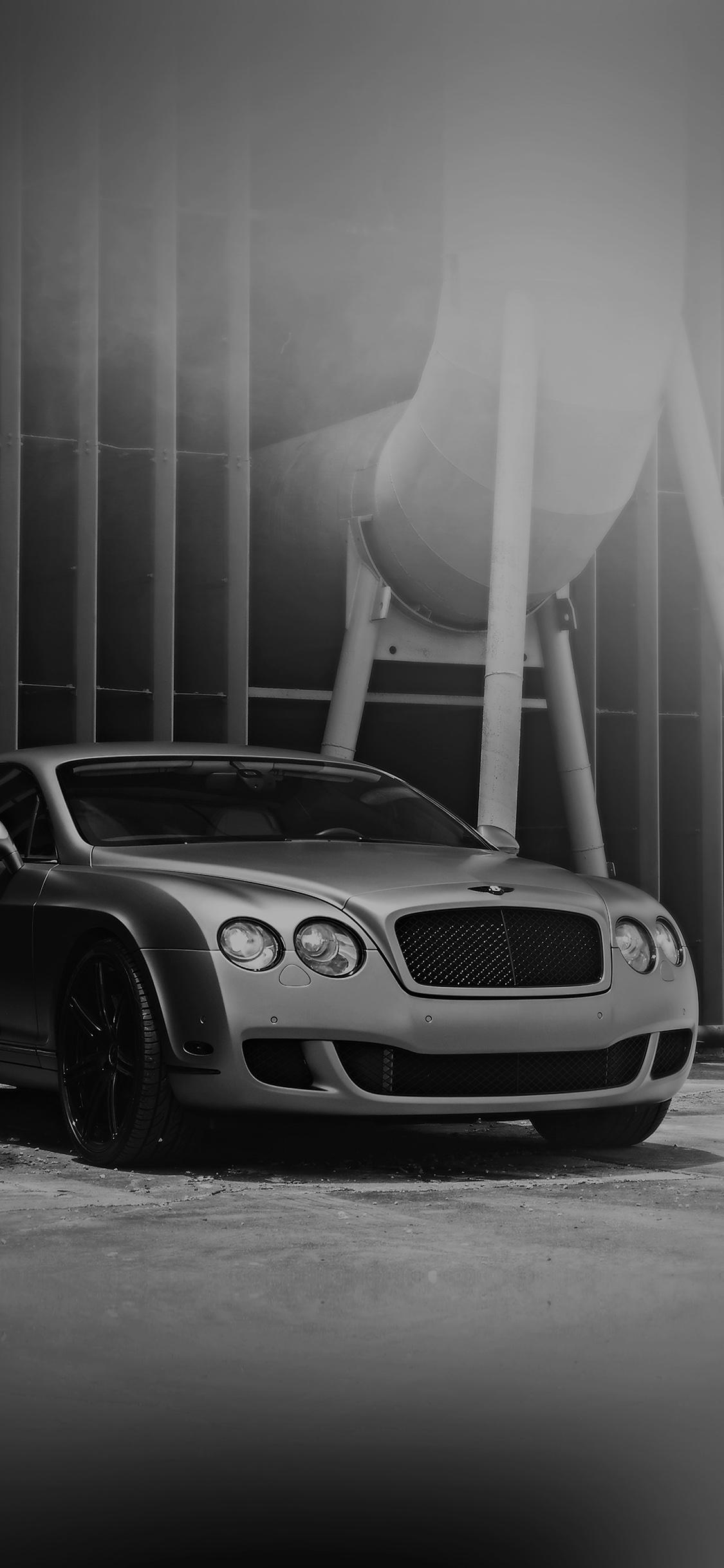 Bentley Motors Bw Dark Car Park Art City Iphone X Wallpaper Download